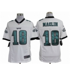 Nike Philadelphia Eagles 18 jeremy maclin white Limited NFL Jersey