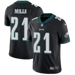 Nike Philadelphia Eagles 21 Jalen Mills Black Alternate Men Stitched NFL Vapor Untouchable Limited Jersey