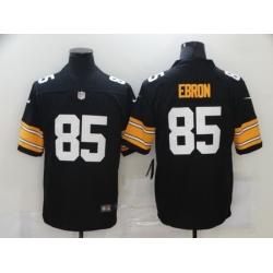 Nike Pittsburgh Steelers 85 Eric Ebron Black Vapor Untouchable Limited Jersey