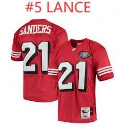 Lance Red Throwback Jersey