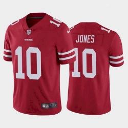 Women San Francisco 49ers Mac Jones Red 2021 Draft Jersey