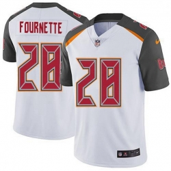 Men Tampa Bay Buccaneers 28 Leonard Fournette White Men Stitched NFL Vapor Untouchable Limited Jersey