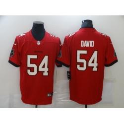 Men Tampa Bay Buccaneers Lavonte David 54 Nike Red Vapor Limited Jersey