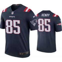 Men Nike New England Patriots  Hunter Henry 85 Rush Limited Jers