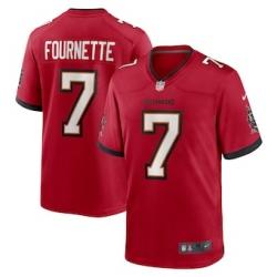 Men Tampa Bay Buccaneers Leonard Fournette 7 Red Vapor Limited Jersey