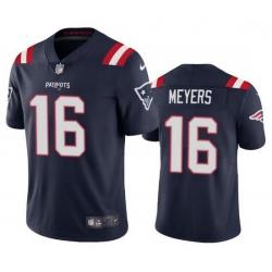 Nike New England Patriots 16 Jakobi Myers Navy Vapor Untouchable Limited Jersey