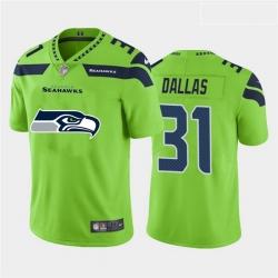 Nike Seahawks 31 DeeJay Dallas Green Team Big Logo Vapor Untouchable Limited Jersey