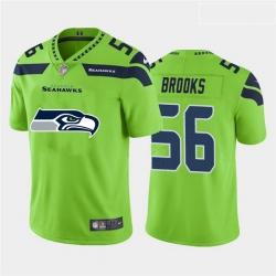 Nike Seahawks 56 Jordyn Brooks Green Team Big Logo Vapor Untouchable Limited Jersey