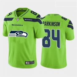 Nike Seahawks 84 Colby Parkinson Green Team Big Logo Vapor Untouchable Limited Jersey