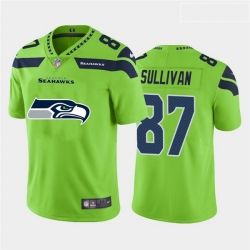 Nike Seahawks 87 Stephen Sullivan Green Team Big Logo Vapor Untouchable Limited Jersey