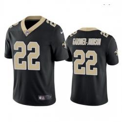 Men New Orleans Saints 22 Chauncey Gardner Johnson 2019 NFL Black Vapor Limited Jersey