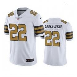 Men New Orleans Saints 22 Chauncey Gardner Johnson Color Rush Jersey