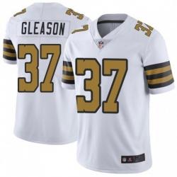 Men New Orleans Saints 37 Steve Gleason Colour Rush Limited Jersey