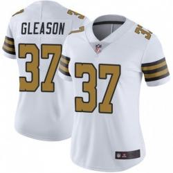 Women New Orleans Saints 37 Steve Gleason Colour Rush Limited Jersey