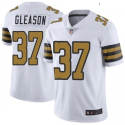 Youth New Orleans Saints 37 Steve Gleason Colour Rush Limited Jersey