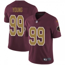 Nike Redskins 99 Chase Young Burgundy Red Alternate Men Stitched NFL Vapor Untouchable Limited Jersey