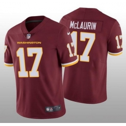 Nike Washington Football Team 17 Terry McLaurin Red Vapor Untouchable Limited Jersey