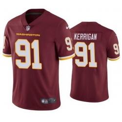 Nike Washington Football Team 91 Ryan Kerrigan Red Vapor Untouchable Limited Jersey