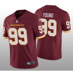 Nike Washington Football Team 99 Chase Young Red Vapor Untouchable Limited Jersey