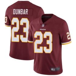Redskins 23 Quinton Dunbar Burgundy Red Team Color Men Stitched Football Vapor Untouchable Limited Jersey