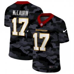 Washington Redskins 17 Terry McLaurin Men Nike 2020 Black CAMO Vapor Untouchable Limited Stitched NFL Jersey