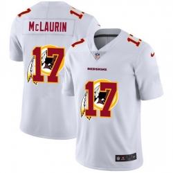 Washington Redskins 17 Terry McLaurin White Men Nike Team Logo Dual Overlap Limited NFL Jersey