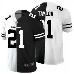 Washington Redskins 21 Sean Taylor Men Black V White Peace Split Nike Vapor Untouchable Limited NFL Jersey