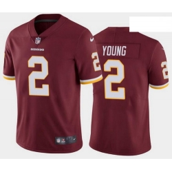 Youth Redskins 2 Chase Young Red Vapor Limited Stitched Jersey 2020 NFL Draft