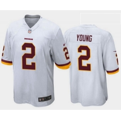 Youth Redskins 2 Chase Young White Vapor Limited Stitched Jersey 2020 NFL Draft