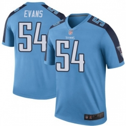 Men Tennessee Titans 54 Rashaan Evans Colour Rush Limited Jersey