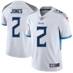 Nike Tennessee Titans 2 Julio Jones White Men Stitched NFL Vapor Untouchable Limited Jersey