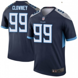 Youth Tennessee Titans 99 Jadeveon Clowney Legend Navy Limited Jersey