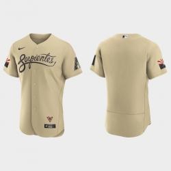 Arizona Diamondbacks Men Nike 2021 City Connect Authentic MLB Jersey Gold