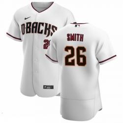 Men Arizona Diamondbacks 26 Pavin Smith Men Nike White Crimson Flex Base Home Team MLB Jersey