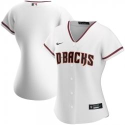 Arizona Diamondbacks Nike Women Home 2020 MLB Team Jersey White