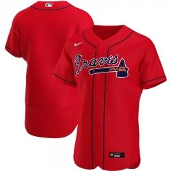 Men Atlanta Braves Men Nike Red Alternate 2020 Flex Base Official Team MLB Jersey
