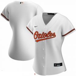Baltimore Orioles Nike Women Home 2020 MLB Team Jersey White