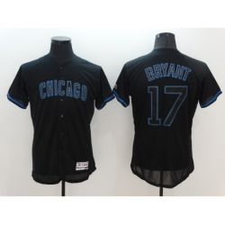 Men's Nike Chicago Cubs #17 Kris Bryant Black Home Stitched Baseball Jersey