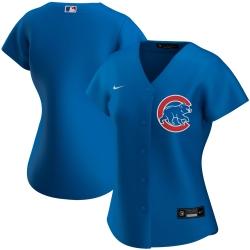 Chicago Cubs Nike Women Alternate 2020 MLB Team Jersey Royal
