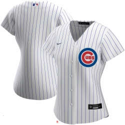 Chicago Cubs Nike Women Home 2020 MLB Team Jersey White