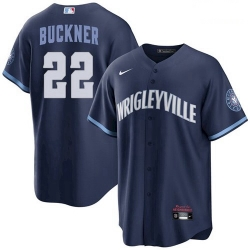 Youth Bill Buckner Chicago Cubs Wrigleyville 2021 City Connect Jersey