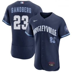 Youth Ryne Sandberg Chicago Cubs 2021 City Connect Wrigleyville Jersey