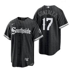 Men's White Sox Southside Luis Gonzalez City Connect Replica Jersey
