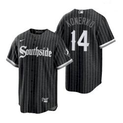 Men's White Sox Southside Paul Konerko City Connect Replica Jersey