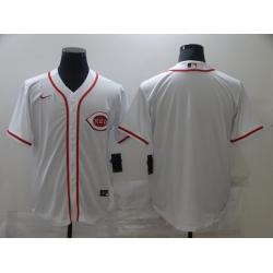 Men Cincinnati Reds Blank white Game 2021 Nike MLB Jersey