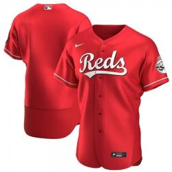 Men Cincinnati Reds Men Nike Scarlet Flex Base Alternate Team MLB Jersey