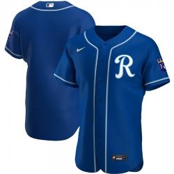Men Kansas City Royals Men Nike Royal Alternate 2020 Flex Base Team MLB Jersey