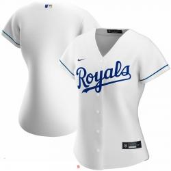 Kansas City Royals Nike Women Home 2020 MLB Team Jersey White