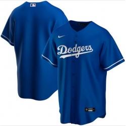 Men Los Angeles Dodgers Nike Blue Blank Jersey