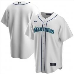 Men Miami Marlins Nike White Blank Jersey II